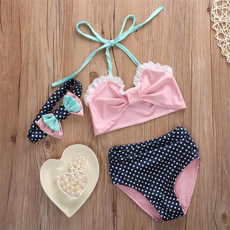 Bikini dla małej dziewczynki lato 2018 aliexpress